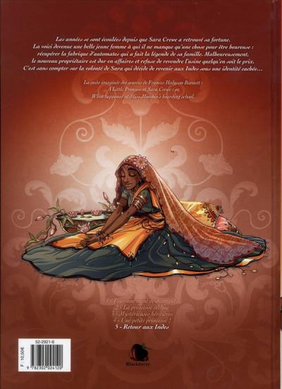 Dos princesse Sara tome 5 - retour aux Indes