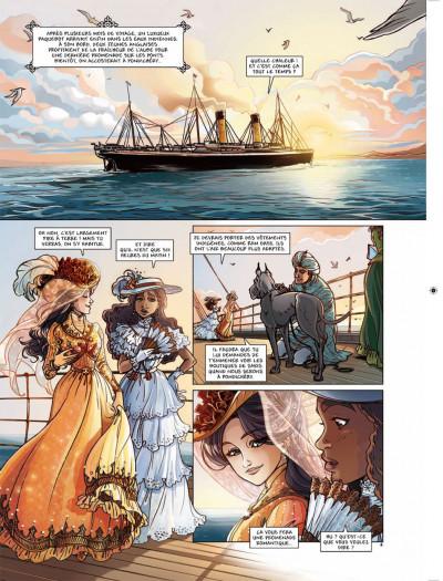 Page 1 princesse Sara tome 5 - retour aux Indes