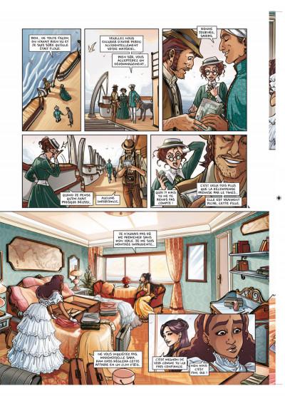 Page 4 princesse Sara tome 5 - retour aux Indes