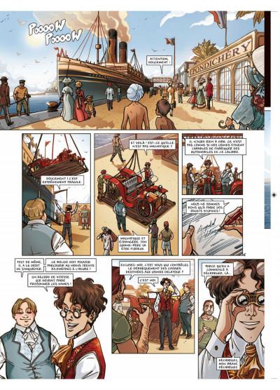 Page 6 princesse Sara tome 5 - retour aux Indes