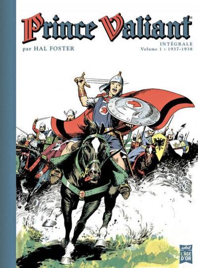 Couverture prince Valiant - intégrale tome 1 - 1937-1938