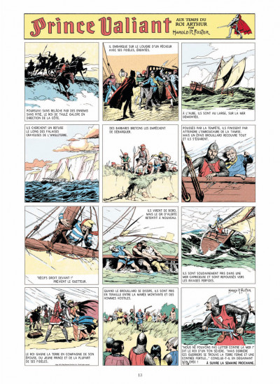 Page 1 prince Valiant - intégrale tome 1 - 1937-1938
