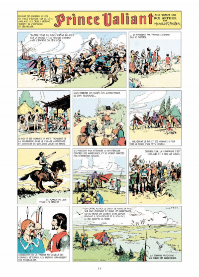 Page 2 prince Valiant - intégrale tome 1 - 1937-1938