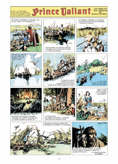 Page 3 prince Valiant - intégrale tome 1 - 1937-1938
