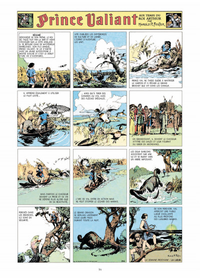 Page 4 prince Valiant - intégrale tome 1 - 1937-1938