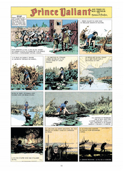 Page 6 prince Valiant - intégrale tome 1 - 1937-1938