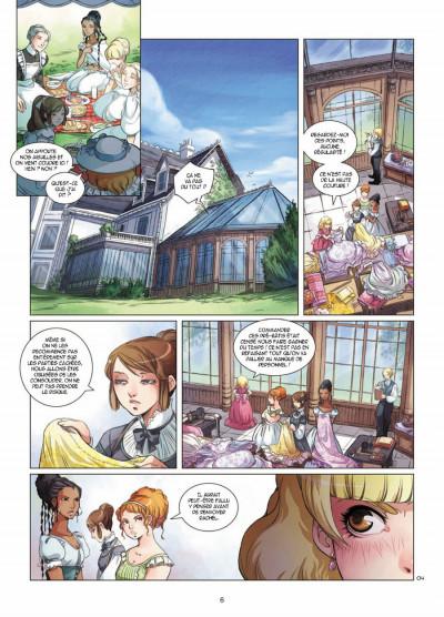 Page 4 Elinor Jones tome 3 - le bal d'été