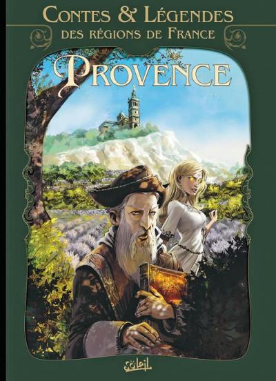 Couverture contes et légendes des régions de France tome 1 - Provence