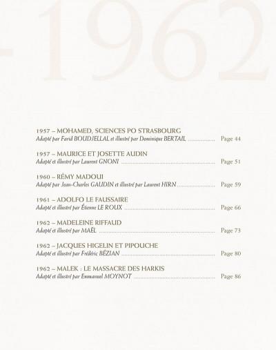 Page 4 paroles de la guerre d'Algérie, 1954-1962