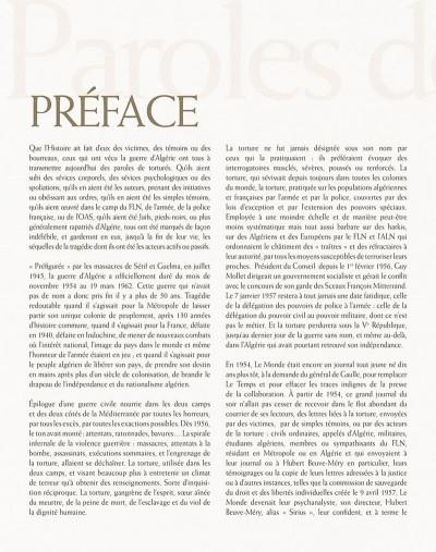 Page 5 paroles de la guerre d'Algérie, 1954-1962