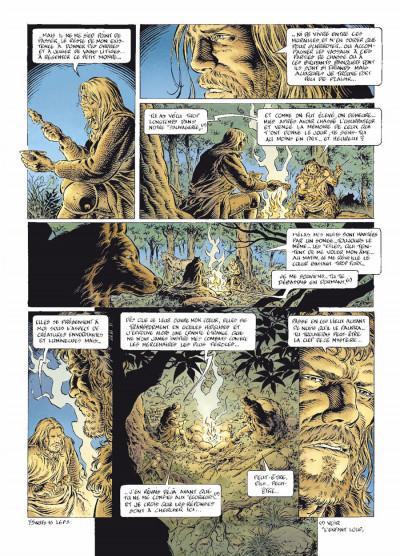 Page 3 légende tome 6 - le secret des Eïles