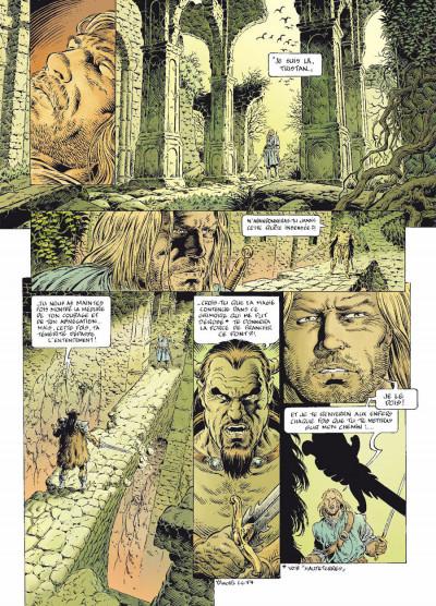 Page 4 légende tome 6 - le secret des Eïles