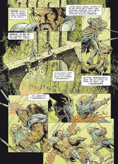 Page 5 légende tome 6 - le secret des Eïles