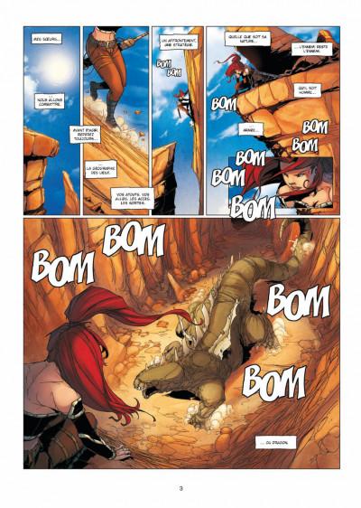 Page 1 la geste des chevaliers dragons tome 15 - l'ennemi