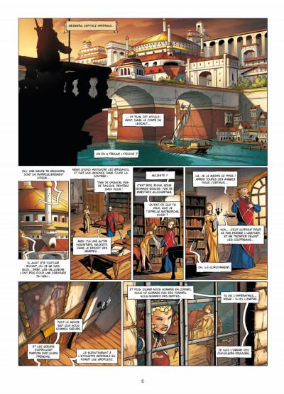 Page 3 la geste des chevaliers dragons tome 15 - l'ennemi