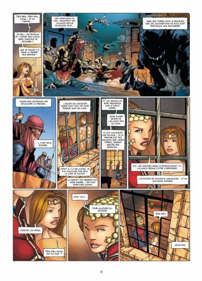 Page 4 la geste des chevaliers dragons tome 15 - l'ennemi