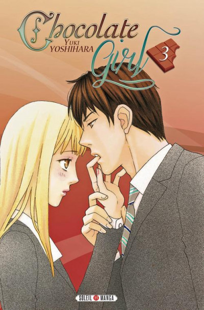 Couverture chocolate girl tome 3