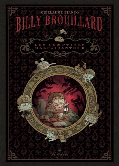 Couverture Billy Brouillard - les comptines malfaisantes tome 2