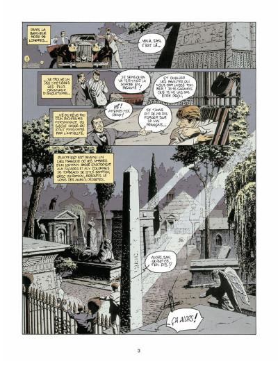 Page 1 Harry Dickson tome 4 - l'ombre de Blackfield