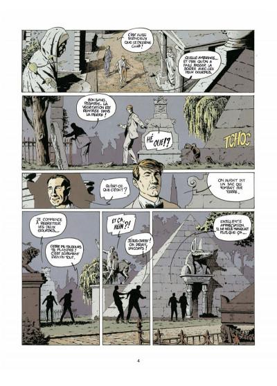 Page 2 Harry Dickson tome 4 - l'ombre de Blackfield