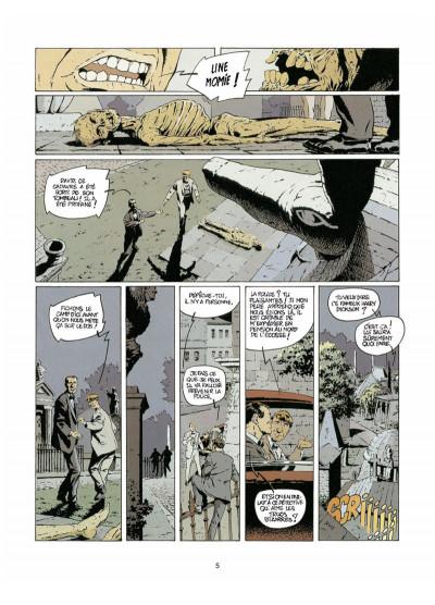 Page 3 Harry Dickson tome 4 - l'ombre de Blackfield