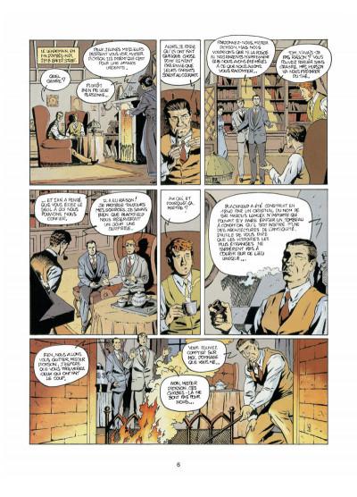 Page 4 Harry Dickson tome 4 - l'ombre de Blackfield