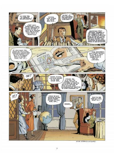 Page 5 Harry Dickson tome 4 - l'ombre de Blackfield