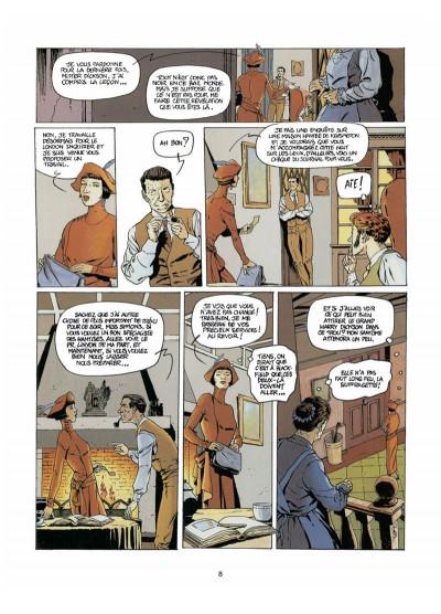 Page 6 Harry Dickson tome 4 - l'ombre de Blackfield