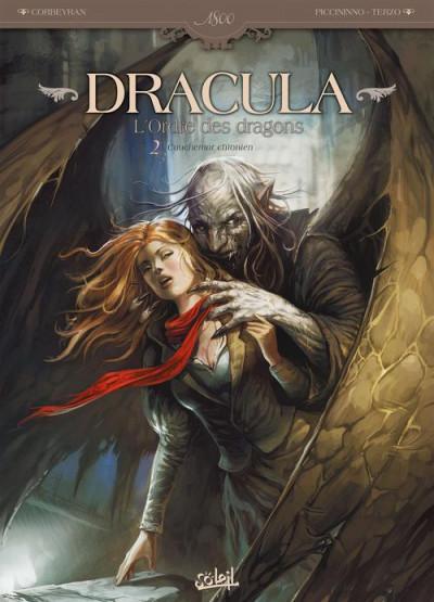image de Dracula, l'ordre des dragons tome 2 - cauchemar chtonien