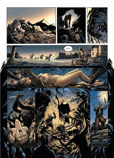 Page 3 Dracula, l'ordre des dragons tome 2 - cauchemar chtonien