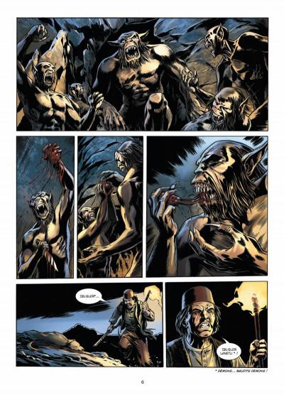 Page 4 Dracula, l'ordre des dragons tome 2 - cauchemar chtonien