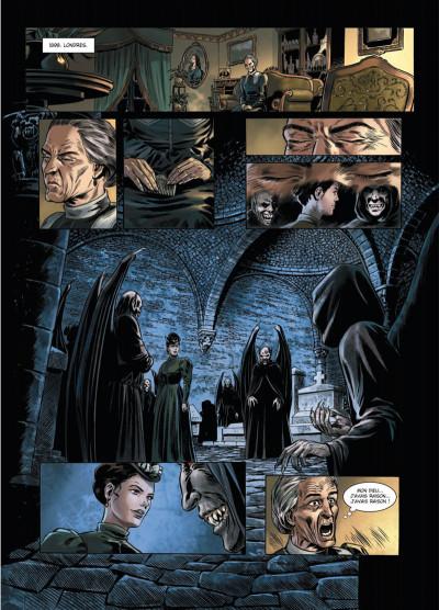 Page 5 Dracula, l'ordre des dragons tome 2 - cauchemar chtonien