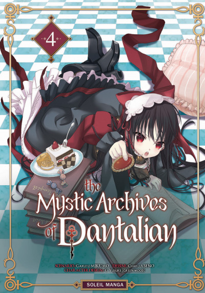Couverture the mystic archives of Dantalian tome 4