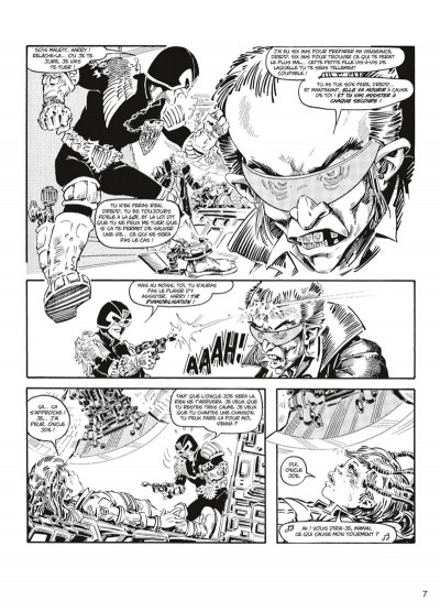 Page 4 judge Dredd - intégrale tome 3