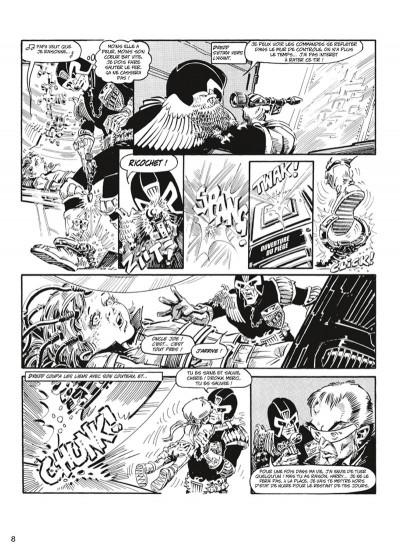 Page 5 judge Dredd - intégrale tome 3