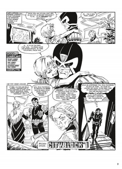 Page 6 judge Dredd - intégrale tome 3