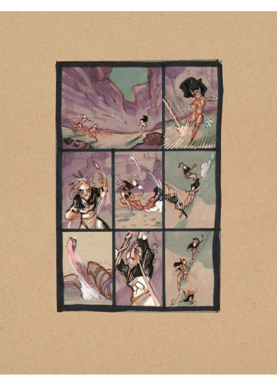 Page 4 Luuna tome 8 - storyboard luxe