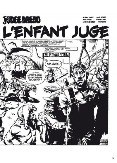 Page 2 Judge Dredd - intégrale tome 4