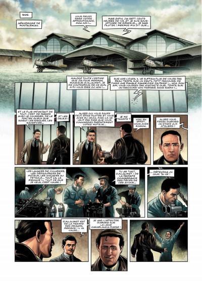 Page 2 L'aéropostale - des pilotes de légendes tome 1 - Guillaumet