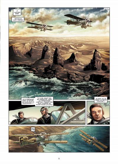 Page 3 L'aéropostale - des pilotes de légendes tome 1 - Guillaumet