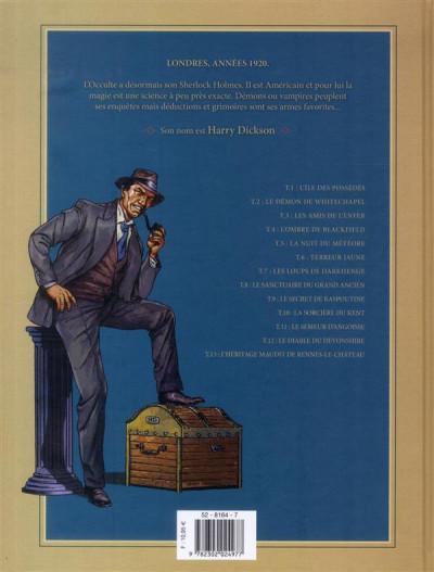 Dos Harry Dickson, le Sherlock Holmes américain T.5 - la nuit du météore