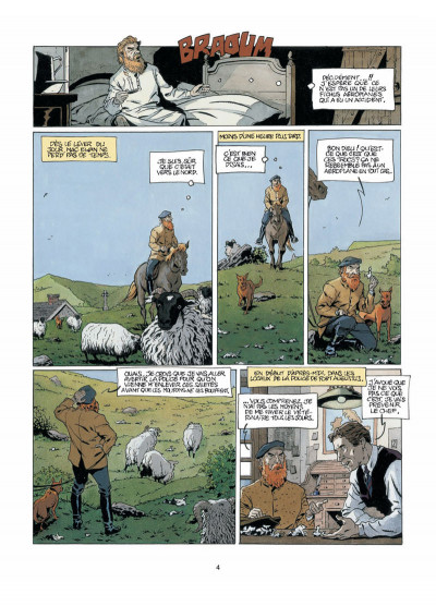 Page 2 Harry Dickson, le Sherlock Holmes américain T.5 - la nuit du météore