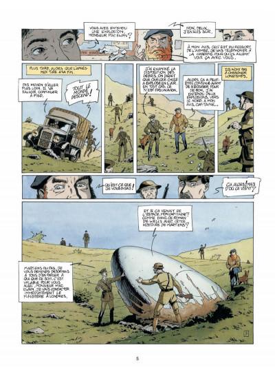 Page 3 Harry Dickson, le Sherlock Holmes américain T.5 - la nuit du météore