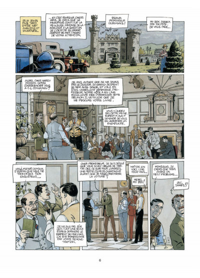 Page 4 Harry Dickson, le Sherlock Holmes américain T.5 - la nuit du météore