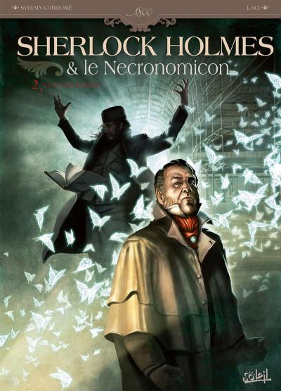 Couverture Sherlock Holmes et le Necronomicon tome 2 - la nuit sur le monde