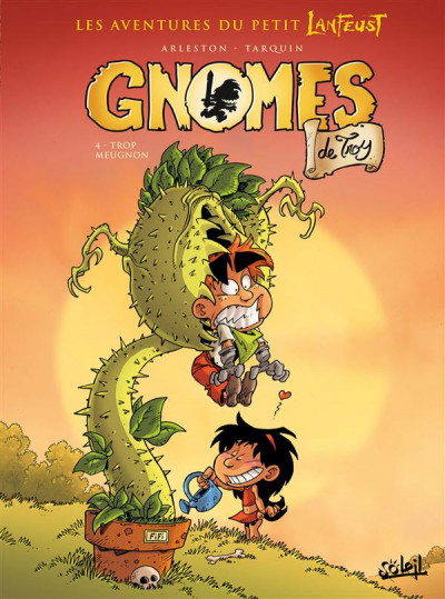 Couverture Gnomes de Troy tome 4