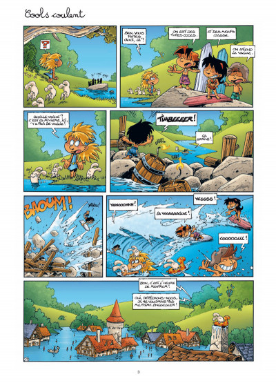 Page 1 Gnomes de Troy tome 4