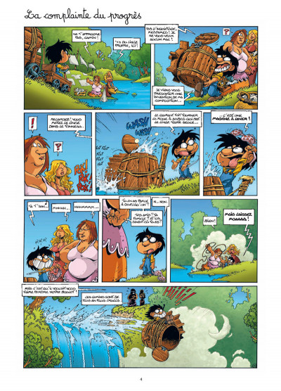 Page 2 gnomes de Troy tome 4 - trop meugnon