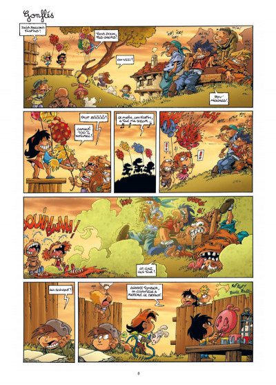 Page 6 Gnomes de Troy tome 4