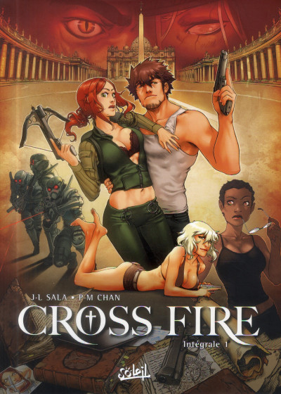 Couverture cross fire - intégrale tome 1 - tome 1 à tome 4